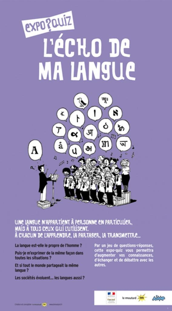 Echo de ma langue (L') / Expo-quiz  