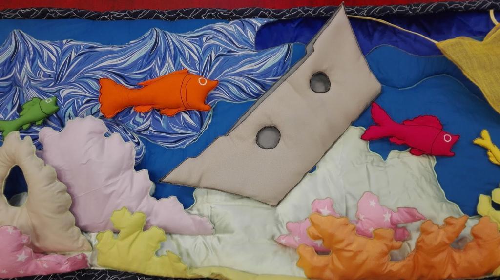 Raconte-tapis : Mer bleue  