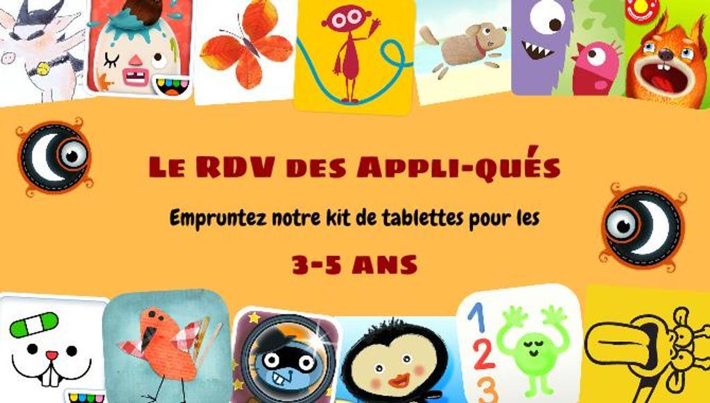 Kit de tablettes : Petite enfance 3-5 ans  