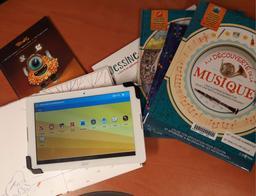 Kit de tablettes : lecture augmentée et réalité virtuelle |