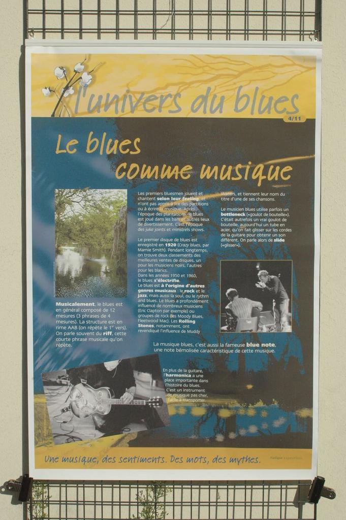 Univers du Blues (L')  