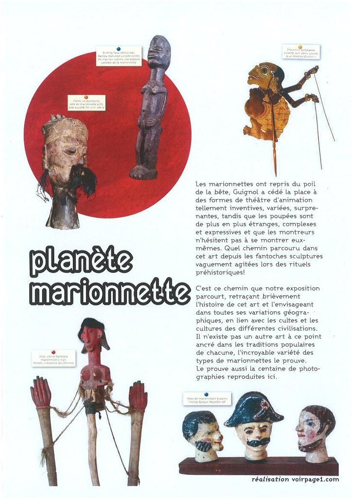 Voyage sur la planète marionnette (Un) |