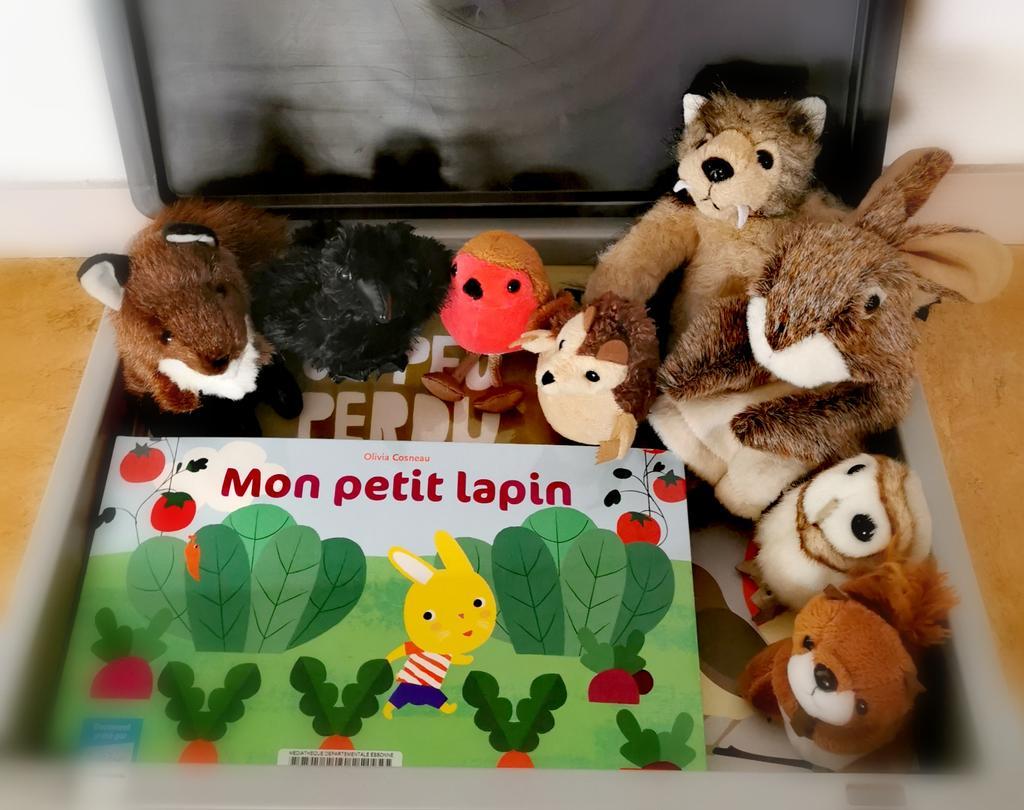 "Marionnettes à doigts - Pack ""Forêt""  "
