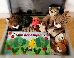 "Marionnettes à doigts - Pack ""Forêt"" |"