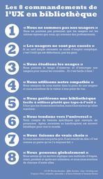 Les 8 commandements de l'UX en bibliothèque / Nicolas Beudon | Beudon, Nicolas