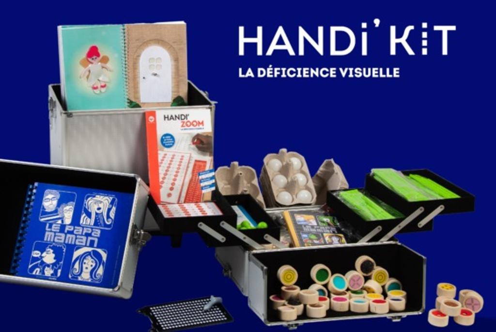 Handi' Kit : La déficience visuelle / Mes mains en or |