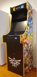 Borne d'arcade: habillage Nintendo |