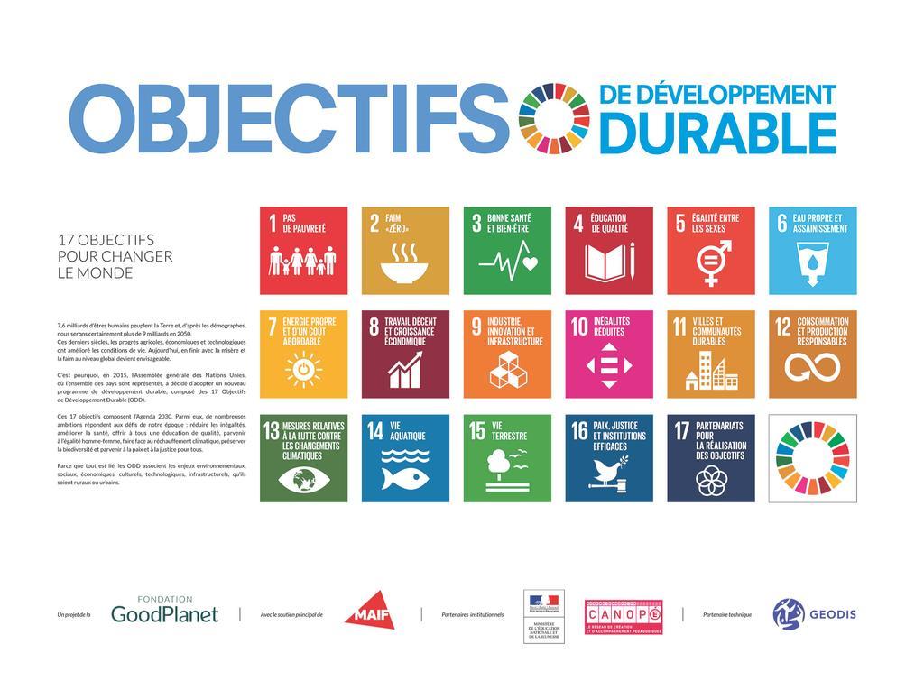 Objectifs de développement durable |