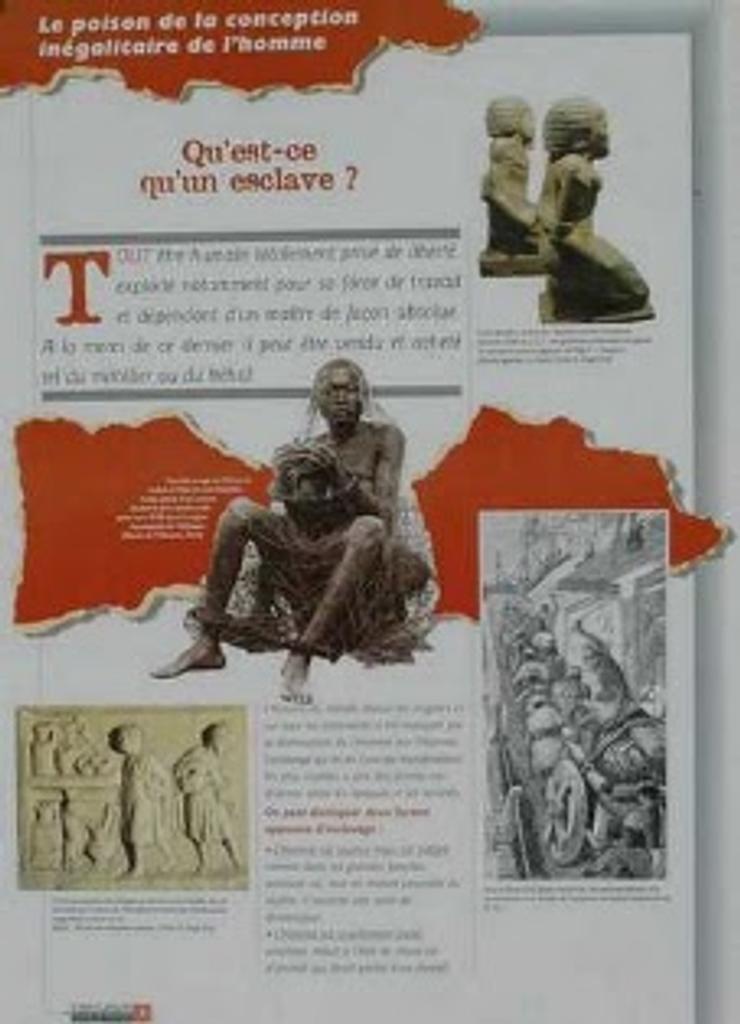 Esclavage dans le monde (L')  
